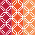 Interlocked Geometric Pattern Royalty Free Stock Photo