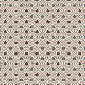 Interlocking figures tessellation background. Repeated geometric shapes. Ethnic mosaic ornament. Oriental wallpaper