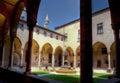 Internal courtyard Saint Anthony monastery, Padua, Italy