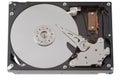 Internal hard drive workings Stock Photo
