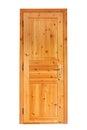 Internal Wooden Door Royalty Free Stock Photo
