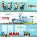 International Airport Horizontal Banners
