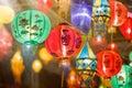 International Asian lantern festival ,chiangmai . Royalty Free Stock Photo