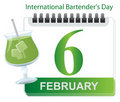 International bartender's day Royalty Free Stock Image