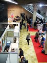 International book fair non fiction location central house of artists cha in moscow taken on november in moscow russia Stock Photos