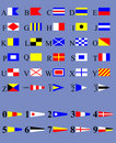International Code of Signals Stock Image