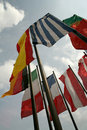 International flags Royalty Free Stock Photography