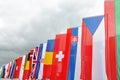 International flags Royalty Free Stock Photo