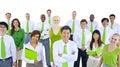 International Green Business People Meeting Royalty Free Stock Photo