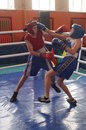 International Junior championship Boxing in Gomel (Belarus). Royalty Free Stock Photo