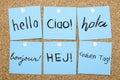International Languages Hello