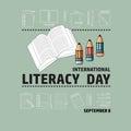 International Literacy Day September 8.