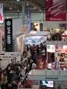International perfumery and cosmetics exhibition i Royalty Free Stock Images