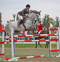 The International show jumping Championship Venice Stock Photos