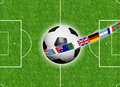 International soccer Royalty Free Stock Photo