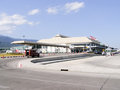 International terminal of chiangmai airport thailand circa photo at thailand Stock Image