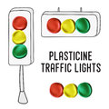 International traffic lights day posters Royalty Free Stock Photo
