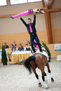 International Vaulting competition, Slovakia Royalty Free Stock Images