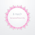 International Women`s Day Vector illustration