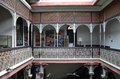 Interner view of cheong fatt tze mansion penang malaysia nov the or blue as it is often Stock Photo