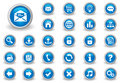 Internet buttons Royalty Free Stock Photo