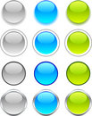 Internet buttons. Royalty Free Stock Photo