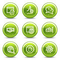 Internet communication web icons Royalty Free Stock Image