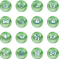 Internet or Computing Icon Set Royalty Free Stock Image