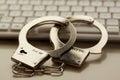 Internet crime Royalty Free Stock Photo
