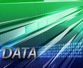 Internet data communication background Stock Photography