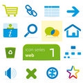 Internet icon set 1 Royalty Free Stock Photography
