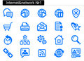 Internet icons (1) Royalty Free Stock Images