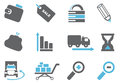 Internet icons Royalty Free Stock Photos