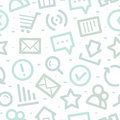 Internet icons pattern illustration format eps Royalty Free Stock Images