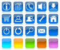 Internet icons series Royalty Free Stock Images