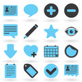 Internet Icons Series: Blog Royalty Free Stock Image