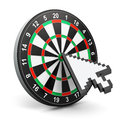 Internet marketing concept creative abstract and web success business technology dartboard with computer mouse arrow cursor Stock Images