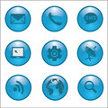 Internet network connections icon vector illustration eps Stock Image