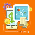 Internet Online Banking Concept Royalty Free Stock Photo