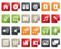 Internet and Online Shopping Icon Set. Tag and Lab Royalty Free Stock Images