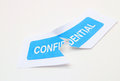 Breach of Confidentiality Royalty Free Stock Photo