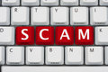 Internet Scams Royalty Free Stock Images