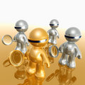 The internet search team icon Royalty Free Stock Photo