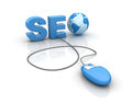 Internet SEO Photo stock
