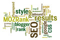 Internet SEO Word Tag Cloud Il...