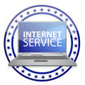 Internet service available Royalty Free Stock Photography