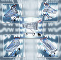 Internet Shopping Composite Royalty Free Stock Photos