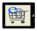 Internet Shopping Concept Illustration Stock Images