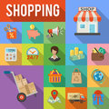 Internet Shopping and Delivery concept
