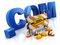 Internet site under construction Royalty Free Stock Photo